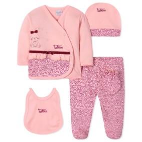Комплект 5 в 1 для новорожденной девочки (код товара: 40653): купить в Berni