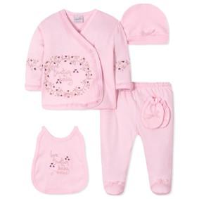 Комплект 5 в 1 для новорожденной девочки (код товара: 40656): купить в Berni
