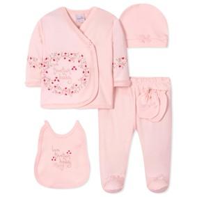 Комплект 5 в 1 для новорожденной девочки (код товара: 40657): купить в Berni