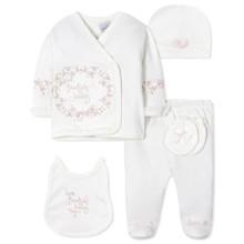 Комплект 5 в 1 для новорожденной девочки (код товара: 40658)