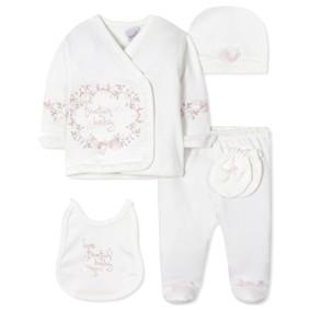 Комплект 5 в 1 для новорожденной девочки (код товара: 40658): купить в Berni
