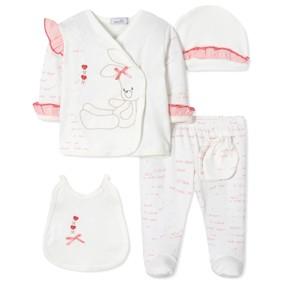 Комплект 5 в 1 для новорожденной девочки (код товара: 40661): купить в Berni