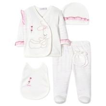 Комплект 5 в 1 для новорожденной девочки (код товара: 40662)