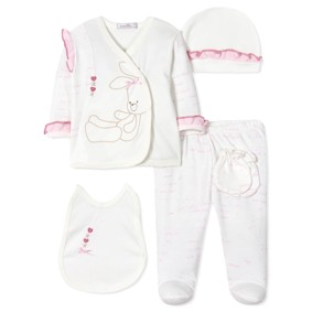 Комплект 5 в 1 для новорожденной девочки (код товара: 40662): купить в Berni