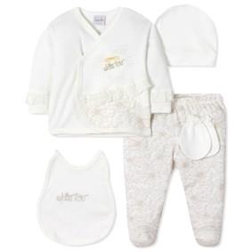Комплект 5 в 1 для новорожденной девочки (код товара: 40665): купить в Berni