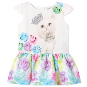 Платье для девочки (код товара: 40858): купить в Berni