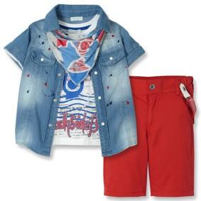 Костюм 5 в 1 для хлопчика Baby Rose (код товару: 4148): купити в Berni