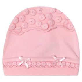Шапка для новорожденной девочки (код товара: 41233): купить в Berni