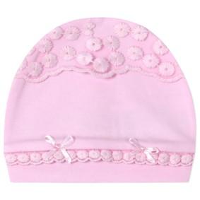 Шапка для новорожденной девочки (код товара: 41235): купить в Berni