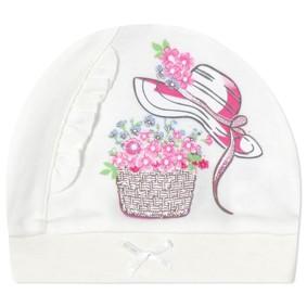 Шапка для новорожденной девочки (код товара: 41236): купить в Berni
