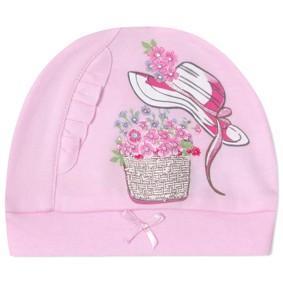 Шапка для новорожденной девочки (код товара: 41237): купить в Berni