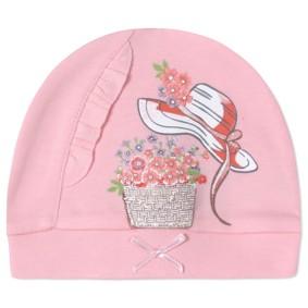 Шапка для новорожденной девочки (код товара: 41238): купить в Berni