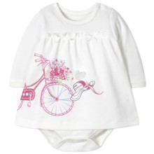 Боди-Платье для девочки оптом (код товара: 41403)