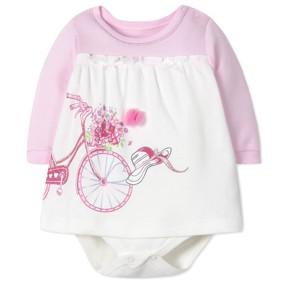 Боди-Платье для девочки (код товара: 41404): купить в Berni
