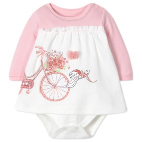 Боди-Платье для девочки (код товара: 41405): купить в Berni