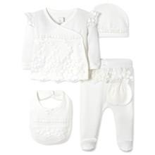 Комплект 5 в 1 для новонародженої дівчинки оптом (код товара: 41623)