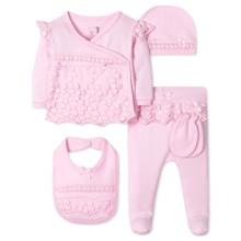 Комплект 5 в 1 для новонародженої дівчинки оптом (код товара: 41624)