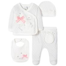 Комплект 5 в 1 для новонародженої дівчинки оптом (код товара: 41682)