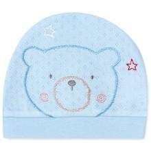 Шапка для новонародженого хлопчика оптом (код товара: 41670)