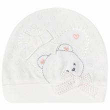 Шапка для новонародженої дівчинки оптом (код товара: 41663)
