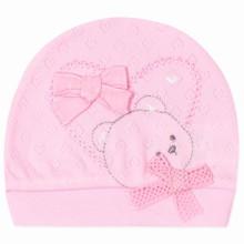 Шапка для новонародженої дівчинки оптом (код товара: 41664)