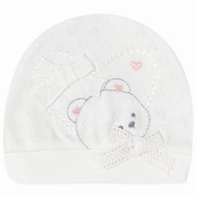 Шапка для новорожденной девочки (код товара: 41663): купить в Berni