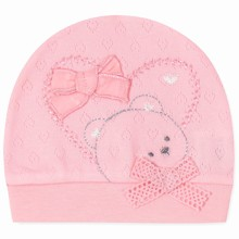 Шапка для новорожденной девочки (код товара: 41665)