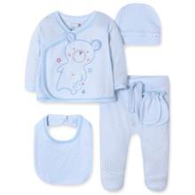 Комплект 5 в 1 для новонародженого хлопчика оптом (код товара: 41724)