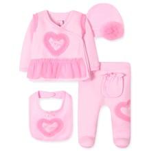 Комплект 5 в 1 для новонародженої дівчинки оптом (код товара: 41719)