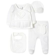 Комплект 5 в 1 для новорожденной девочки оптом (код товара: 41718)