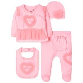 Комплект 5 в 1 для новорожденной девочки (код товара: 41721): купить в Berni