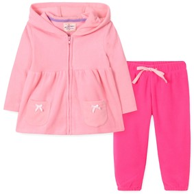 Флисовый костюм для девочки (код товара: 42553): купить в Berni