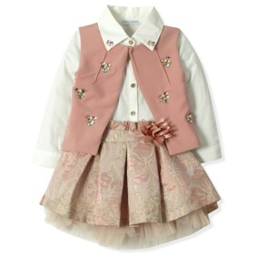 Костюм 3 в 1 для девочки Baby Rose оптом (код товара: 4321): купить в Berni