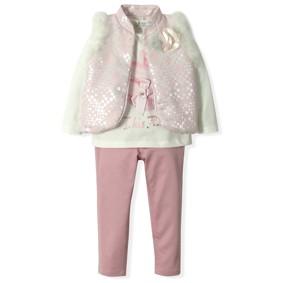 Костюм 3 в 1 для девочки Baby Rose (код товара: 4323): купить в Berni