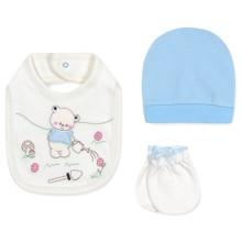 Комплект 3 в 1 для новонародженого оптом (код товара: 43384)