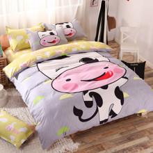 Комплект постельного белья Коровка (полуторный) (код товара: 43492)