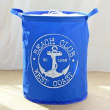 Корзина для игрушек, белья, хранения на завязках Пляжный клуб оптом (код товара: 43456)