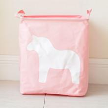 Кошик для іграшок, білизни, зберігання Кінь, рожевий оптом (код товара: 43480)
