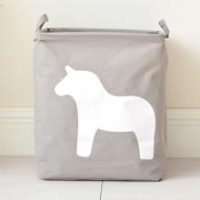 Кошик для іграшок Кінь, сірий оптом (код товара: 43479)