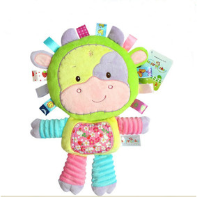 Мягкая игрушка - погремушка Коровка (код товара: 43531): купить в Berni