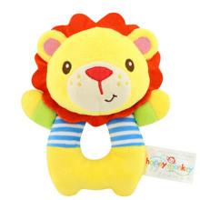 Мягкая игрушка - погремушка Лев (код товара: 43574)