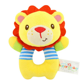 Мягкая игрушка - погремушка Лев (код товара: 43574): купить в Berni