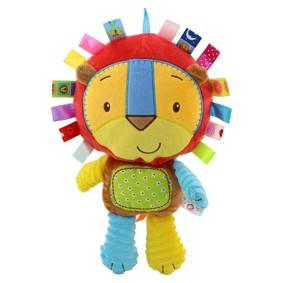 Мягкая игрушка - погремушка Львенок (код товара: 43532): купить в Berni