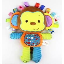 Мягкая игрушка - погремушка Мартышка (код товара: 43527)