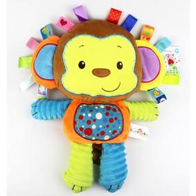 Мягкая игрушка - погремушка Мартышка (код товара: 43527): купить в Berni