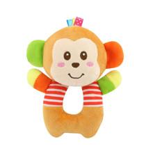 Мягкая игрушка - погремушка Мартышка (код товара: 43572)