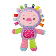 Мягкая игрушка - погремушка Поросенок (код товара: 43528)