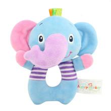 Мягкая игрушка - погремушка Слоненок (код товара: 43573)