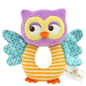 Мягкая игрушка - погремушка Сова (код товара: 43570): купить в Berni
