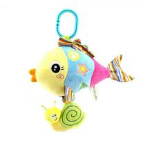 Мягкая музыкальная подвеска Рыбка (код товара: 43565)